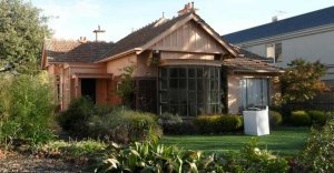 This house was partially demolished by the time the former prime minister Gough Whitlam died.