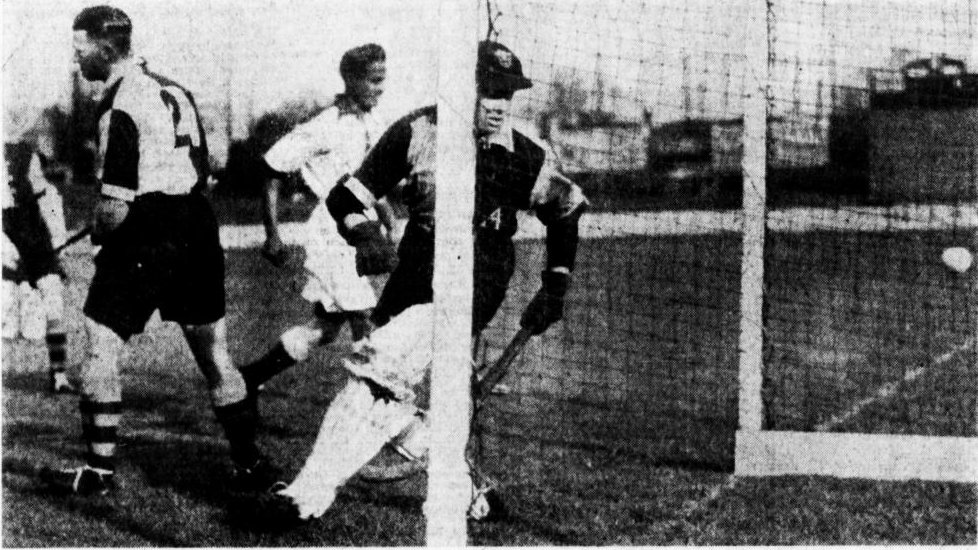 Australia versus India in 1935. Photo: John Sanders.