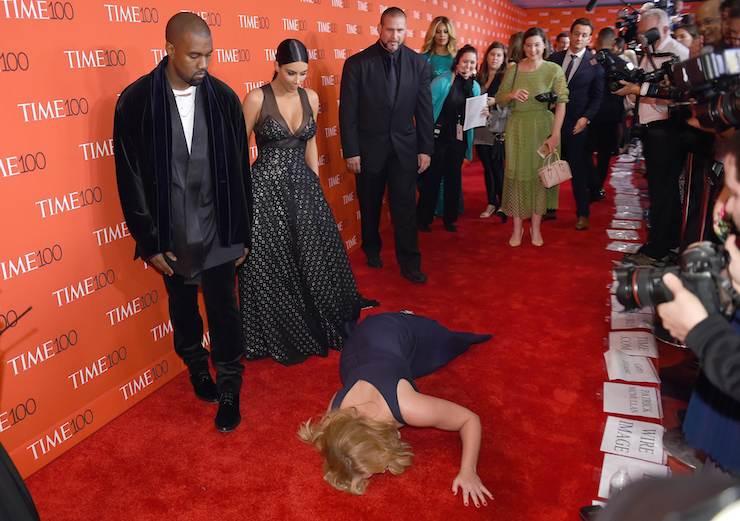 Amy Schumer Kanye West
