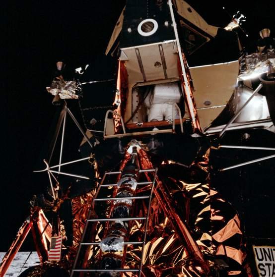 second man on the moon apollo 11