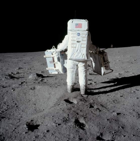 moon landing photos rare. NASA