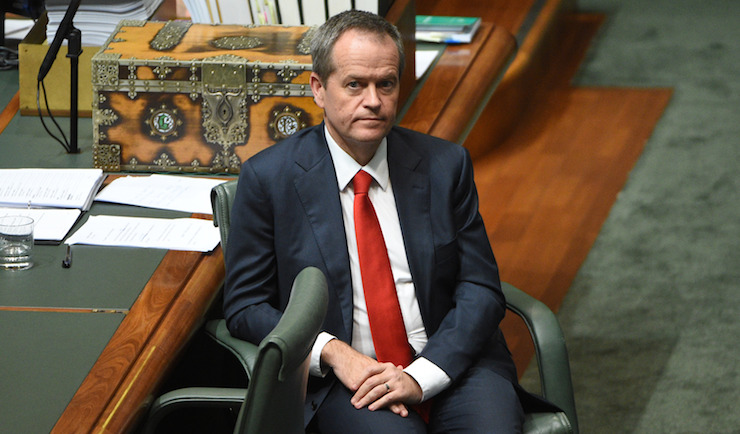 Bill Shorten's week went from bad to worse. Photo: AAP
