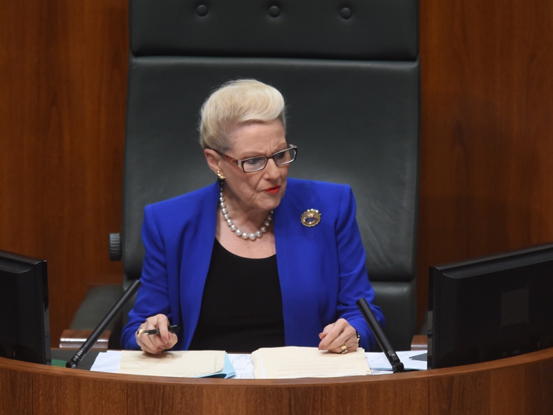 Bronwyn Bishop could be in hot water again.