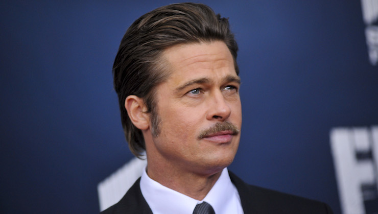 Brad Pitt's production company will tackle a political satire for Netflix. Photo: Getty