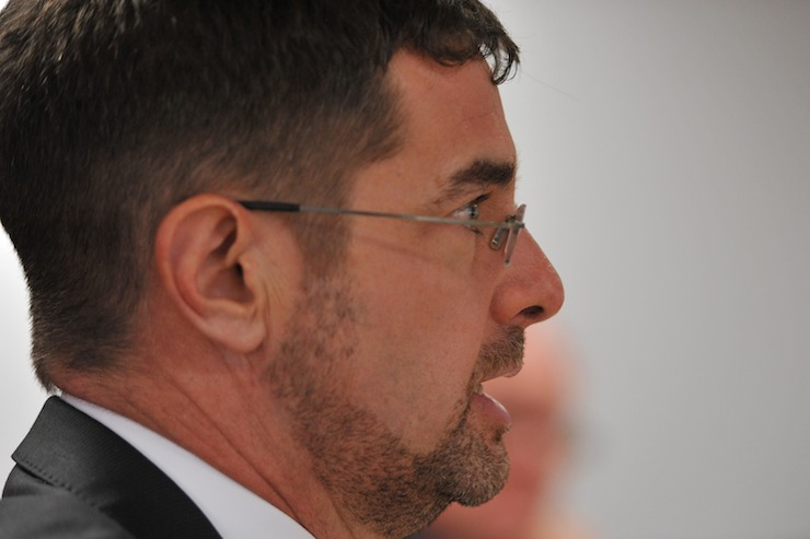 Bruce Meagher, Foxtel's Director of Corporate Affairs. Photo: AAP