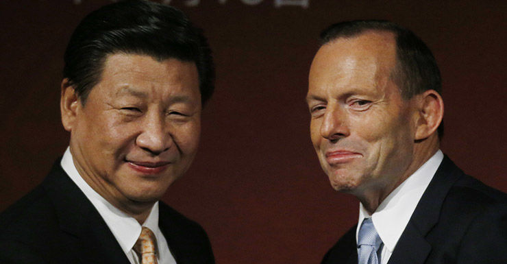 Getty, China, Xi Jinping, Tony Abbott