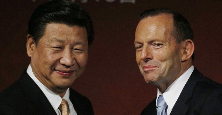 Getty, China, Xi Jinping, Tony Abbott