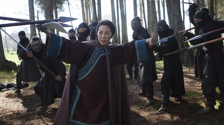 Michelle Yeoh in a scene from the upcoming film. Photo: Netflix