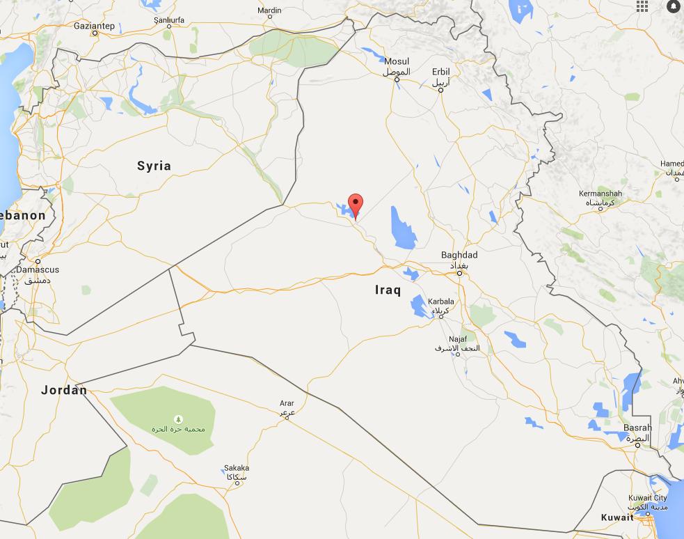 haditha baghdad and syria