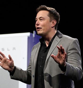Elon Musk announced huge forward orders for his range of lithium-ion batteries.