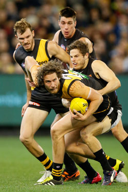 Richmond's scrap with Carlton last week has been widely condemned. Photo: Getty
