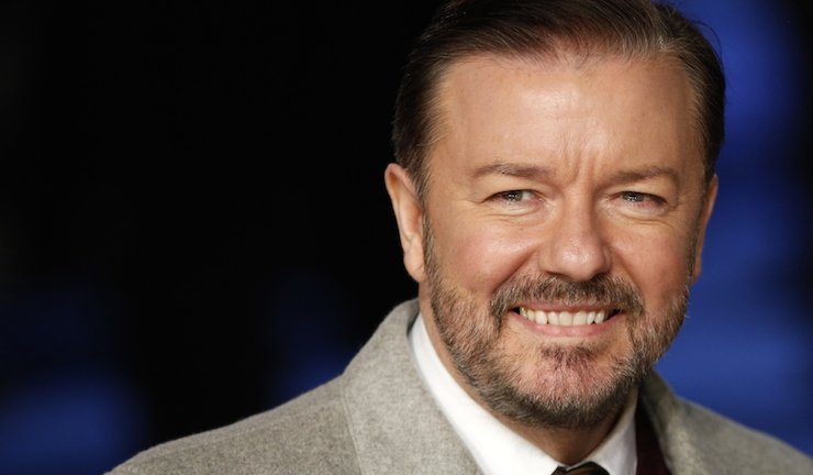 Ricky Gervais has created a new film for Netflix. Photo: Getty