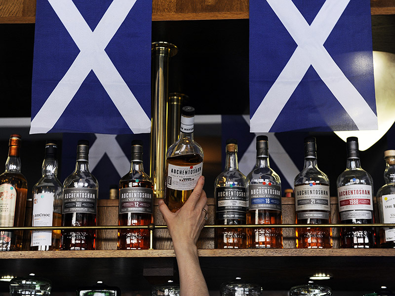World's first minimum price for alcohol introduced in Scotland, home of whisky