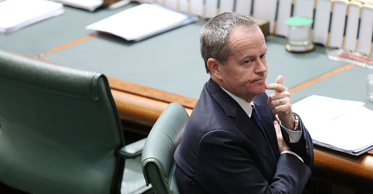 Opposition Leader Bill Shorten receives another blow in the polls.