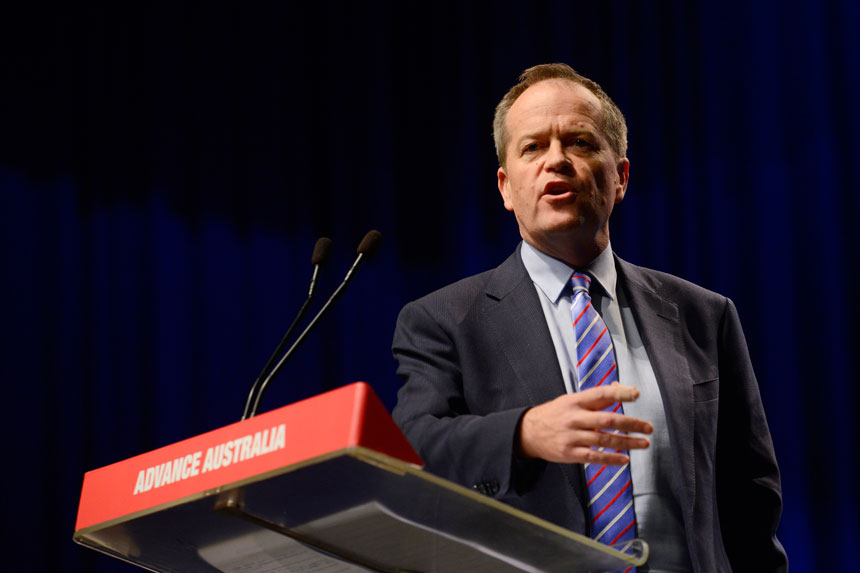 Bill Shorten ALP conference.