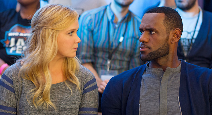 Amy Schumer and Lebron James