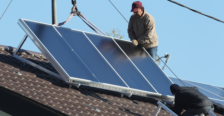 The government has pulled the plug on investments in rooftop and small-scale solar.