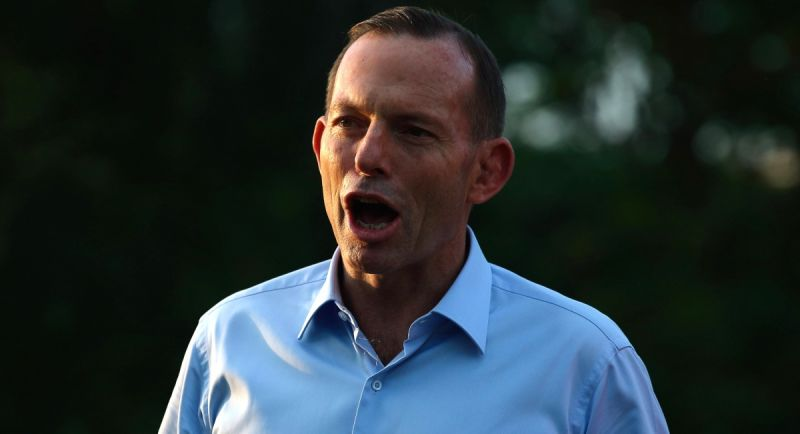 Mr Abbott suggested we focus on grocery ????? int he wake of the Greek crisis. Photo: Getty