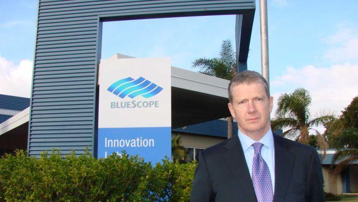 Bluescope Steel's chief executive Paul O'Malley