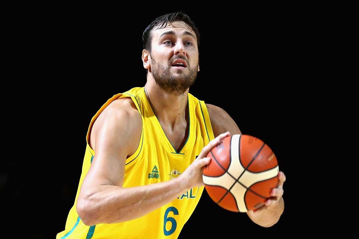 Andrew Bogut is reportedly suffering from a back injury.
