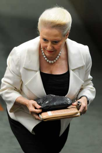 Bronwyn Bishop decided early on that the political life was what she wanted. Photo: AAP