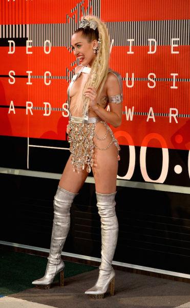 Miley Cyrus, the anti-wallflower.