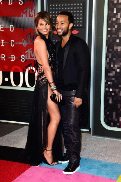 John Legend and his wife, Chrissy Teigen.