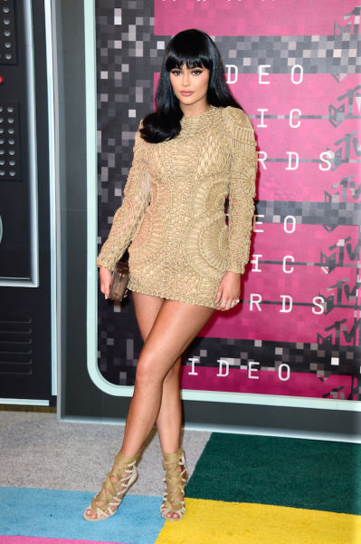 The youngest of the Kardashian sisters, Kylie Jenner, looks far older than her 18 years.