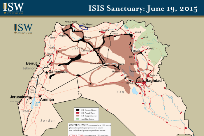 Islamic State now controls more territory than officially recognised neighbouring countries like Lebanon and Israel.