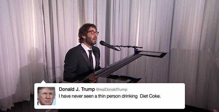 JoshGroban_DonaldTrump