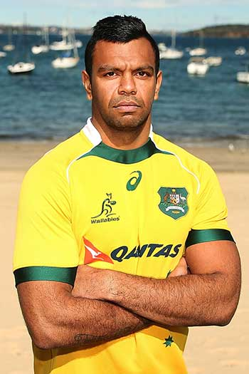 Controversial star Kurtley Beale. Photo: Getty