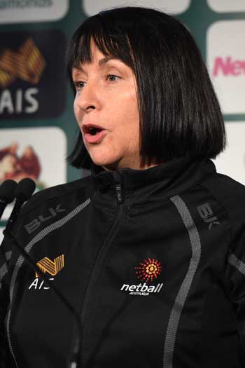 Diamonds coach Lisa Alexander. Photo: AAP