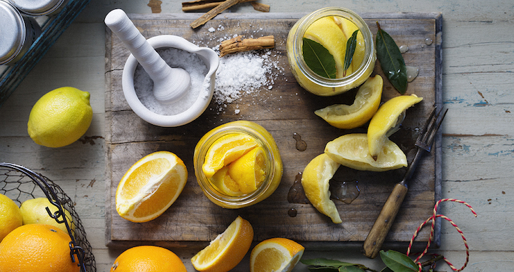 Salting citrus fruit is an excellent way to preserve them.
