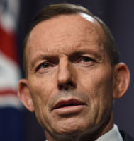 Tony Abbott insists marriage is between a man and woman.