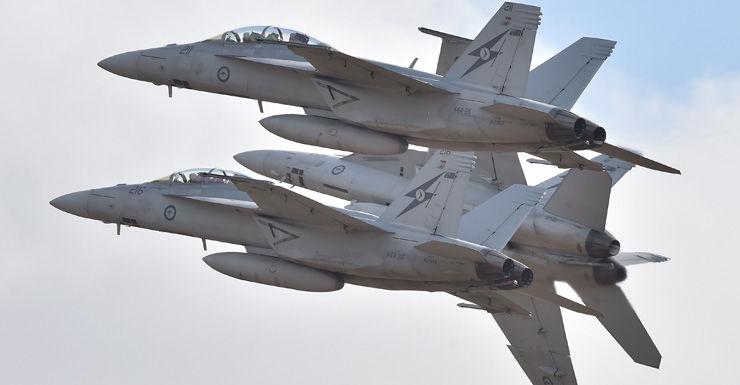 raaf super hornets iraqi deaths