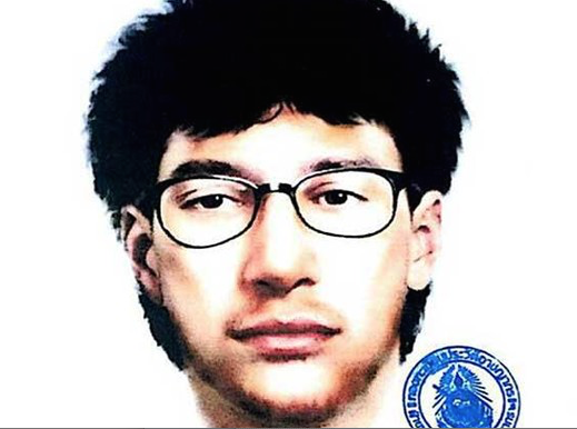 Here is the man Thai authorities are chasing in relation to the bombing.
