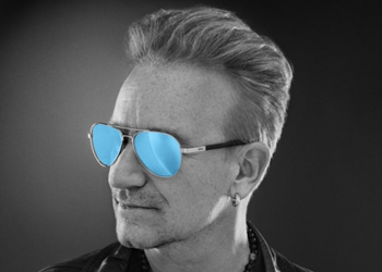 U2 frontman Bono, who has glaucoma, is a big advocate of sunnies. Photo: Revo