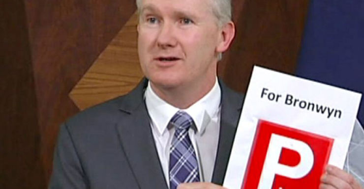 Tony Burke led Labor's 'P-plate' attack on Bronwyn Bishop