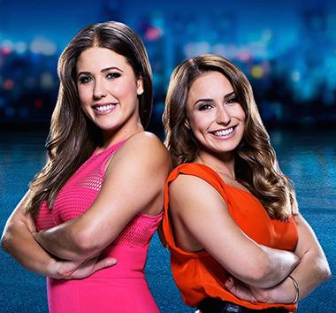 Perth team Carmen and Nicole.
