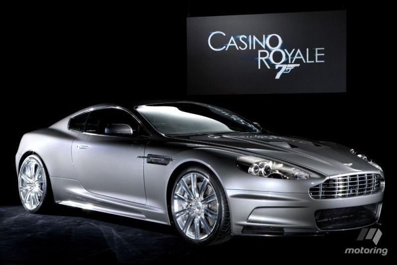 Casino Royale Aston Martin.