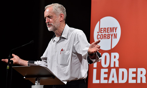 British Labour party leader Jeremy Corbyn. Photo: Getty.