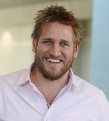 Curtis Stone, the man behind the pancakes.