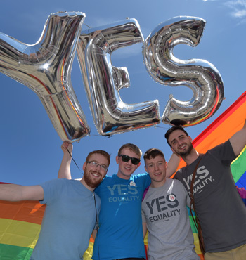 Ireland voted in favour of allowing same-sex marriage in a historic referendum in May.
