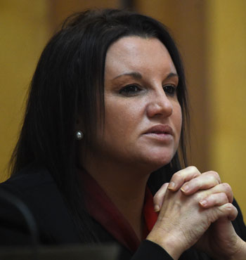 Ms Lambie spoke for the first time of her family's struggle.