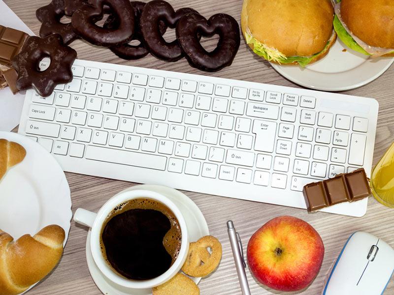 office junk food