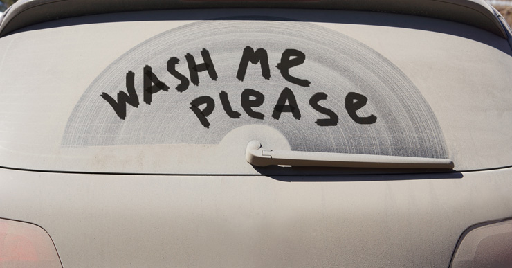 A dirty car is not a fast car.