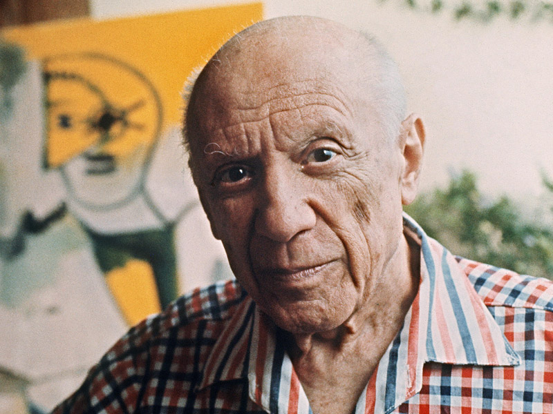 Spanish painter Pablo Picasso.