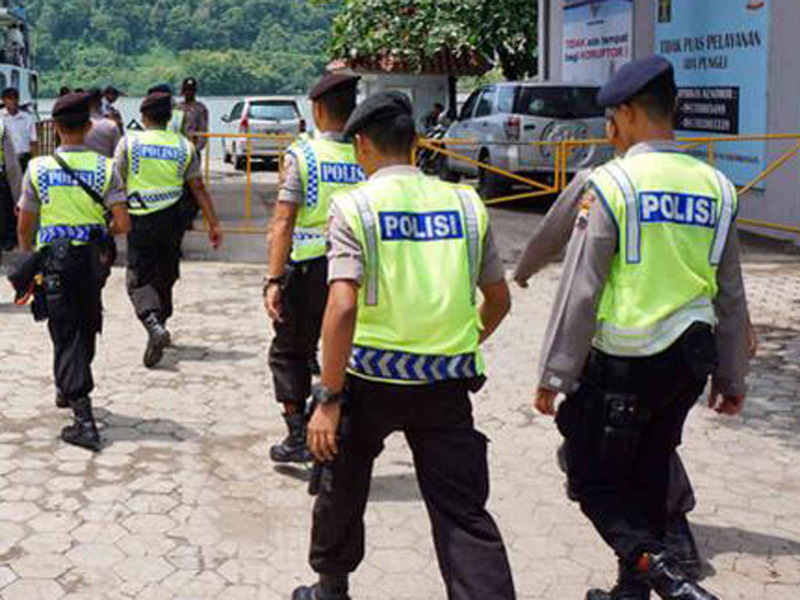 Indonesian police arrested the man at the weekend.