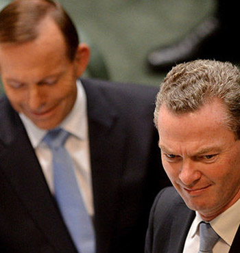 Christopher Pyne wasn't a fan of the PM's decision, earlier on Tuesday.