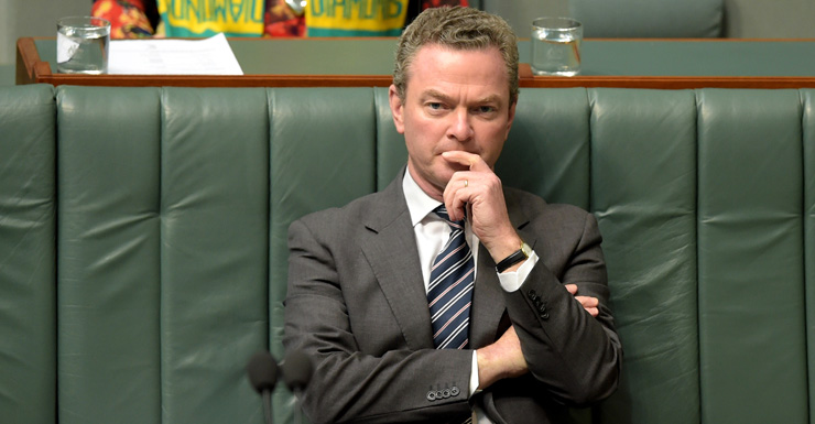 Christopher Pyne assures recent Federal funding is 'not about seats'.